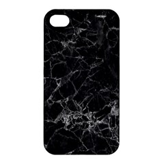 Black Texture Background Stone Apple Iphone 4/4s Hardshell Case by Celenk
