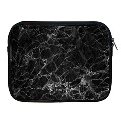 Black Texture Background Stone Apple Ipad 2/3/4 Zipper Cases by Celenk