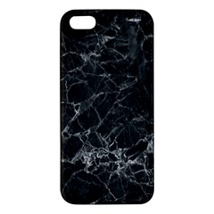 Black Texture Background Stone Iphone 5s/ Se Premium Hardshell Case by Celenk