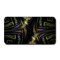 Fractal Braids Texture Pattern Medium Bar Mats