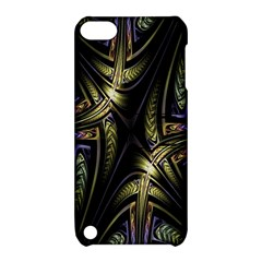 Fractal Braids Texture Pattern Apple Ipod Touch 5 Hardshell Case With Stand by Celenk