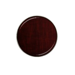 Grunge Brown Abstract Texture Hat Clip Ball Marker (10 Pack)