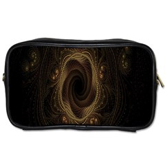 Beads Fractal Abstract Pattern Toiletries Bags 2 Side