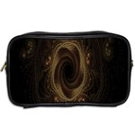 Beads Fractal Abstract Pattern Toiletries Bags 2-Side Back