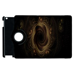 Beads Fractal Abstract Pattern Apple Ipad 3/4 Flip 360 Case by Celenk