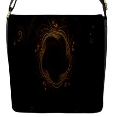 Beads Fractal Abstract Pattern Flap Messenger Bag (s) by Celenk