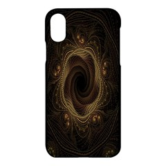 Beads Fractal Abstract Pattern Apple Iphone X Hardshell Case by Celenk