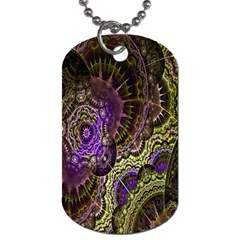 Abstract Fractal Art Design Dog Tag (two Sides)