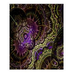 Abstract Fractal Art Design Shower Curtain 60  X 72  (medium)  by Celenk