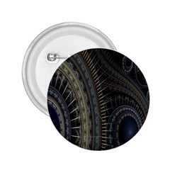 Fractal Spikes Gears Abstract 2 25  Buttons by Celenk