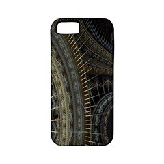 Fractal Spikes Gears Abstract Apple Iphone 5 Classic Hardshell Case (pc+silicone) by Celenk