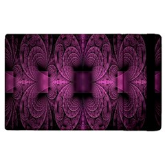 Fractal Magenta Pattern Geometry Apple Ipad 3/4 Flip Case by Celenk