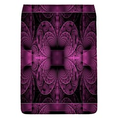 Fractal Magenta Pattern Geometry Flap Covers (s)  by Celenk