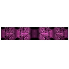 Fractal Magenta Pattern Geometry Large Flano Scarf  by Celenk