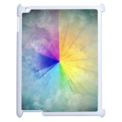 Abstract Art Modern Apple Ipad 2 Case (white) by Celenk