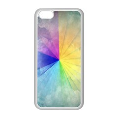 Abstract Art Modern Apple Iphone 5c Seamless Case (white)