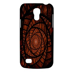 Fractal Red Brown Glass Fantasy Galaxy S4 Mini by Celenk