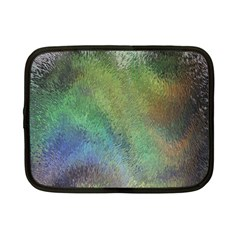 Frosted Glass Background Psychedelic Netbook Case (small)  by Celenk