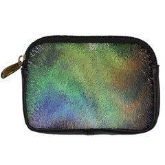 Frosted Glass Background Psychedelic Digital Camera Cases by Celenk