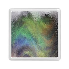Frosted Glass Background Psychedelic Memory Card Reader (square)  by Celenk