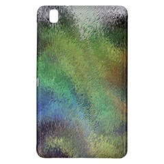 Frosted Glass Background Psychedelic Samsung Galaxy Tab Pro 8 4 Hardshell Case by Celenk