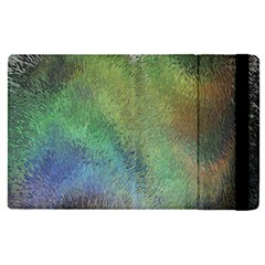 Frosted Glass Background Psychedelic Apple Ipad Pro 12 9   Flip Case by Celenk