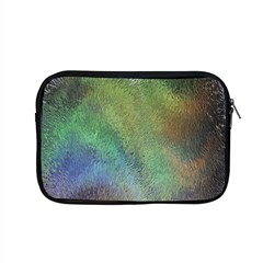 Frosted Glass Background Psychedelic Apple Macbook Pro 15  Zipper Case by Celenk