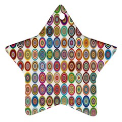 Decorative Ornamental Concentric Star Ornament (two Sides)