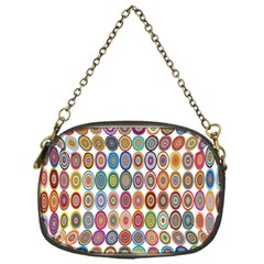 Decorative Ornamental Concentric Chain Purses (one Side)  by Celenk