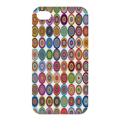 Decorative Ornamental Concentric Apple Iphone 4/4s Premium Hardshell Case by Celenk