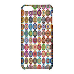 Decorative Ornamental Concentric Apple Ipod Touch 5 Hardshell Case With Stand by Celenk