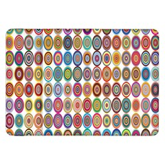 Decorative Ornamental Concentric Samsung Galaxy Tab 8 9  P7300 Flip Case by Celenk