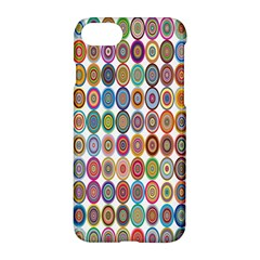 Decorative Ornamental Concentric Apple Iphone 8 Hardshell Case by Celenk