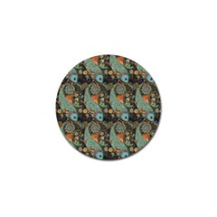 Pattern Background Fish Wallpaper Golf Ball Marker