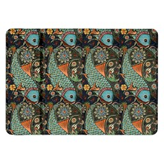 Pattern Background Fish Wallpaper Samsung Galaxy Tab 8 9  P7300 Flip Case by Celenk