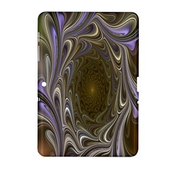 Fractal Waves Whirls Modern Samsung Galaxy Tab 2 (10 1 ) P5100 Hardshell Case  by Celenk