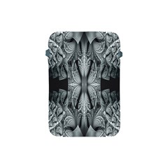 Fractal Blue Lace Texture Pattern Apple Ipad Mini Protective Soft Cases by Celenk