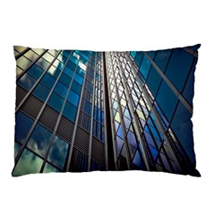 Architecture Skyscraper Pillow Case by Celenk