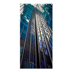 Architecture Skyscraper Shower Curtain 36  X 72  (stall)  by Celenk