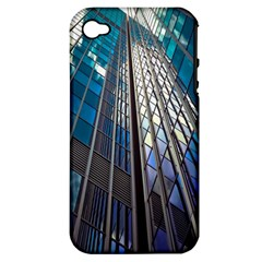 Architecture Skyscraper Apple Iphone 4/4s Hardshell Case (pc+silicone) by Celenk