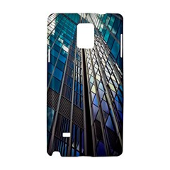 Architecture Skyscraper Samsung Galaxy Note 4 Hardshell Case by Celenk