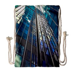 Architecture Skyscraper Drawstring Bag (large) by Celenk