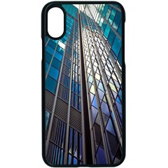 Architecture Skyscraper Apple Iphone X Seamless Case (black) by Celenk