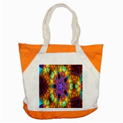 Kaleidoscope Pattern Ornament Accent Tote Bag by Celenk
