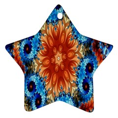 Alchemy Kaleidoscope Pattern Star Ornament (two Sides) by Celenk