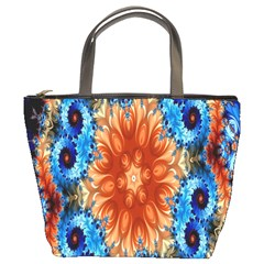 Alchemy Kaleidoscope Pattern Bucket Bags