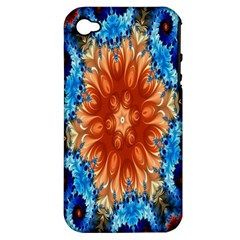 Alchemy Kaleidoscope Pattern Apple Iphone 4/4s Hardshell Case (pc+silicone) by Celenk