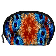 Alchemy Kaleidoscope Pattern Accessory Pouches (large)  by Celenk