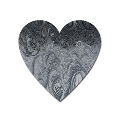 Abstract Art Decoration Design Heart Magnet by Celenk