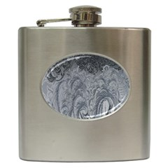 Abstract Art Decoration Design Hip Flask (6 Oz) by Celenk